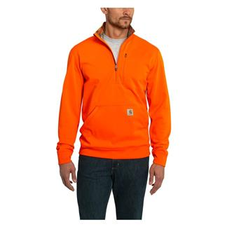 Carhartt Force Extremes 1/2 Zip Sweatshirt Hunter Orange