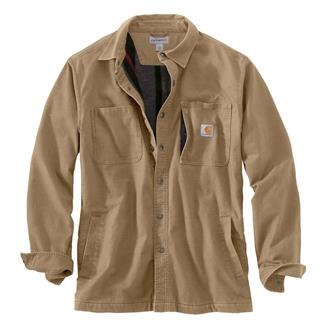 Carhartt Rugged Flex Rigby Shirt Jac Dark Khaki