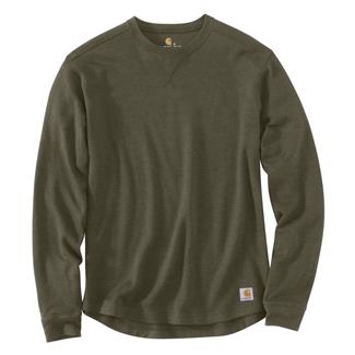 Carhartt Tilden Long Sleeve Crewneck Moss