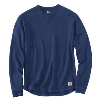 Carhartt Tilden Long Sleeve Crewneck Dark Cobalt Blue