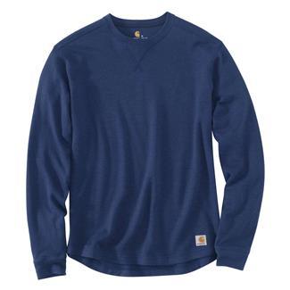 Carhartt Tilden Long Sleeve Crewneck Dark Cobalt Blue