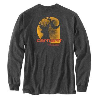Carhartt Workwear Earn that Buck Long Sleeve T-Shirt Carbon Heather