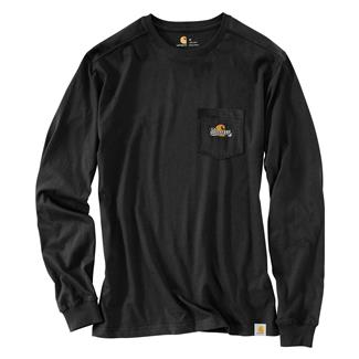 Carhartt Maddock Woodsman Long Sleeve T-Shirt Black