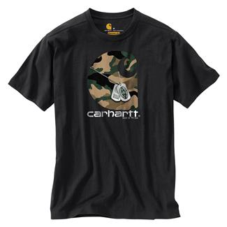 Carhartt Lubbock H2H Dog Tags T-Shirt Black