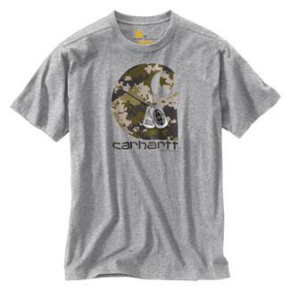 Carhartt Lubbock H2H Dog Tags T-Shirt Heather Gray