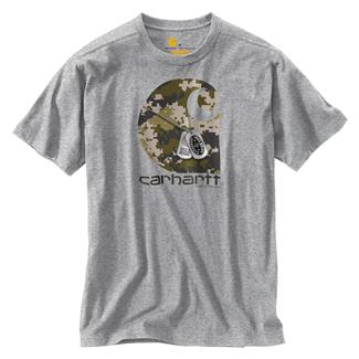 Carhartt Lubbock H2H Dog Tags T-Shirt Heather Gray