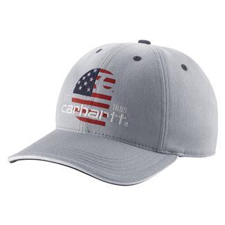 Carhartt Filled Flag Hat Silver