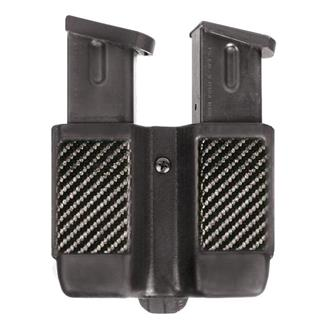 Blackhawk Single Stack Double Mag Case Black Carbon Fiber