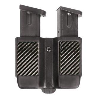 Blackhawk Single Stack Double Mag Case Black Carbon Fiber