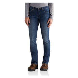 Carhartt Slim Fit Layton Bootcut Jeans Rainwash