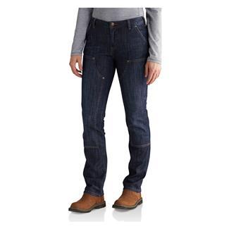 Carhartt Slim Fit Layton Straight Leg Jeans Indigo Stream