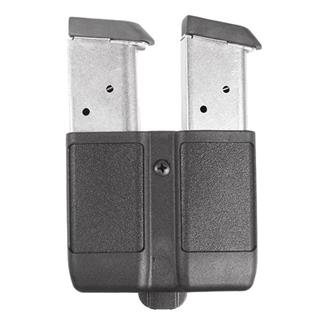Blackhawk Single Stack Double Mag Case Black Matte