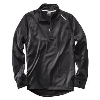 Timberland PRO Understory 1/4 Zip Fleece Top Jet Black