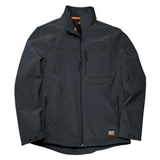 Timberland PRO Power Zip Windproof Softshell Jacket Jet Black