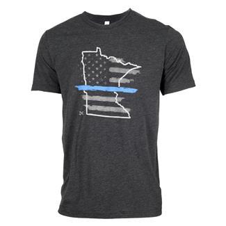 TG TBL Minnesota T-Shirt Charcoal Black
