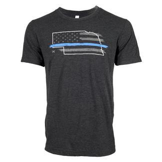 TG TBL Nebraska T-Shirt Charcoal Black