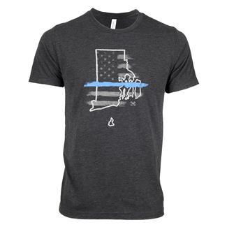 TG TBL Rhode Island T-Shirt Charcoal Black