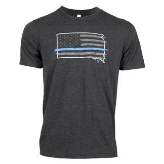 TG TBL South Dakota T-Shirt Charcoal Black