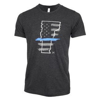 TG TBL Vermont T-Shirt Charcoal Black