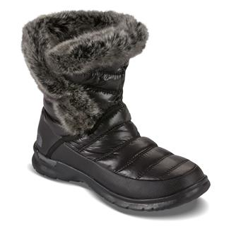 The North Face ThermoBall Microbaffle Bootie II Shiny TNF Black / Smoked Pearl Gray
