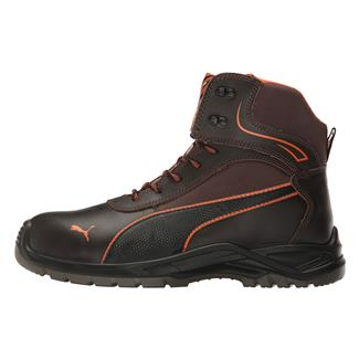 Puma Safety Atomic Mid WP Brown