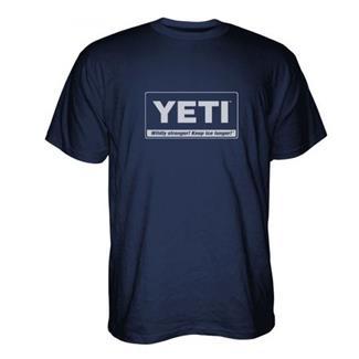 YETI Billboard T-Shirt Navy / White
