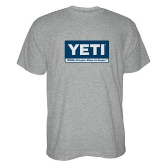 YETI Billboard T-Shirt Gray / Navy