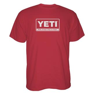 YETI Billboard T-Shirt Red / White