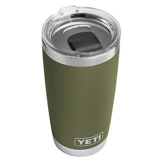 YETI Rambler 20 oz. Tumbler with MagSlider Lid Olive Green