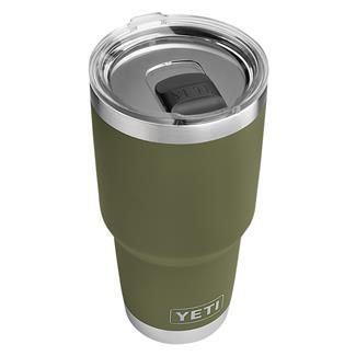 YETI Rambler 30 oz. Tumbler with MagSlider Lid Olive Green