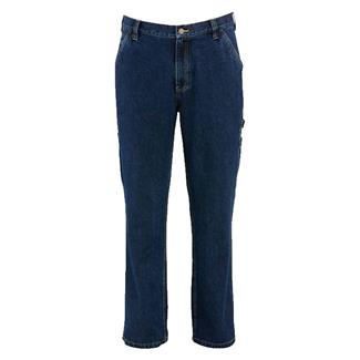 Wolverine Fleece Lined Hammer Loop Pants Dark Denim