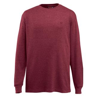 Wolverine Walden Long Sleeve T-Shirt Maroon Heather