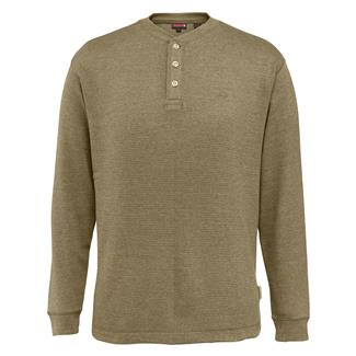 Wolverine Walden Long Sleeve Henley Peat Heather
