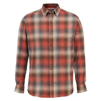 Wolverine Hammond Long Sleeve Flannel Shirt Cinnamon Plaid