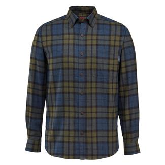 Wolverine Hammond Long Sleeve Flannel Shirt Blackwatch Plaid