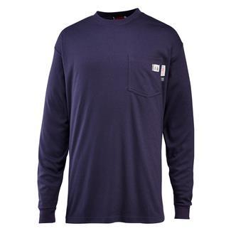 Wolverine FR Long Sleeve T-Shirt Navy