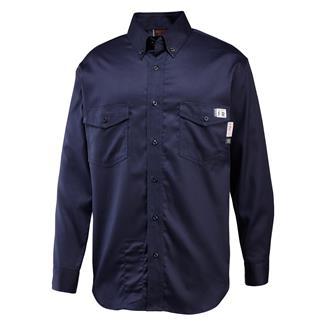 Wolverine FR Twill Shirt Navy