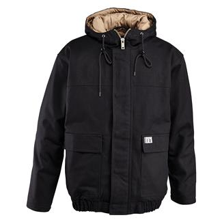 Wolverine FR Hooded Work Jacket Black