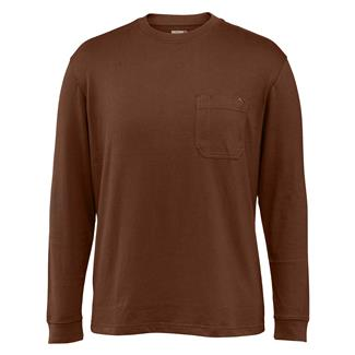 Wolverine Knox Long Sleeve T-Shirt Dark Bison