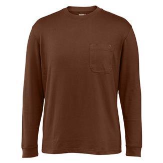 Wolverine Knox Long Sleeve T-Shirt Dark Bison
