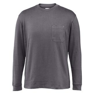 Wolverine Knox Long Sleeve T-Shirt Pewter Heather
