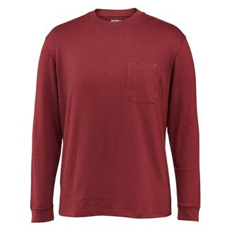 Wolverine Knox Long Sleeve T-Shirt Maroon