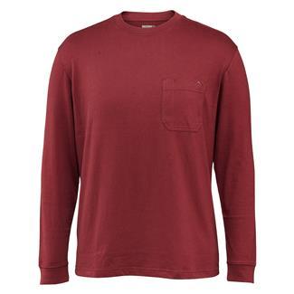 Wolverine Knox Long Sleeve T-Shirt Maroon