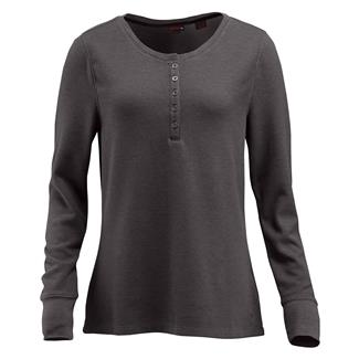 Wolverine Belle Long Sleeve Henley Pewter Heather