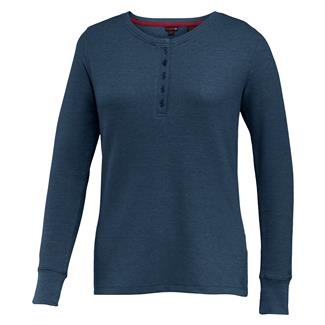 Wolverine Belle Long Sleeve Henley Midnight Heather