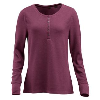 Wolverine Belle Long Sleeve Henley Plum Heather