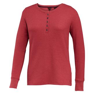 Wolverine Belle Long Sleeve Henley Magenta Heather
