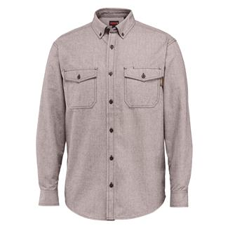 Wolverine Drummond Long Sleeve Flannel Shirt Brown