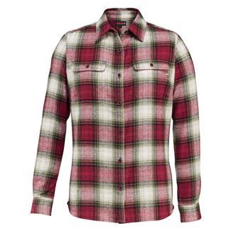 Wolverine Aurora Long Sleeve Flannel Shirt Rev Plaid