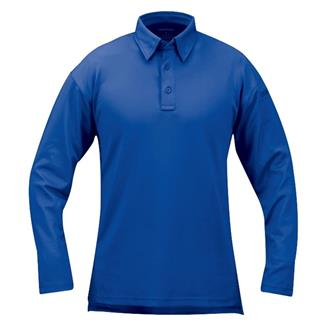 Propper Long Sleeve ICE Performance Polos Cobalt